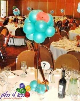 עיצוב כדור בלונים לשולחן אותנטי ומיוחד