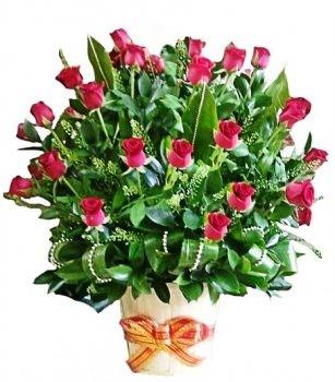 סידור ורדים אהבה מרשים 500 שח
