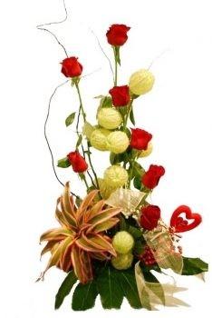 סידור ורדים פיינאפל 220 שח