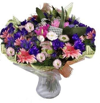 סידור מקסים פרחים סגלגלים בואזה 219 שח