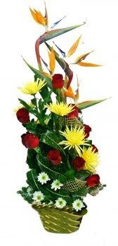 סידור פרחים - גן עדן מרהיב 390 שח