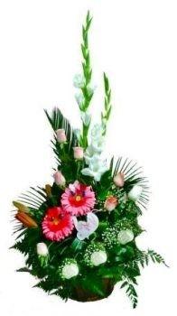 סידור פרחים נופר 300 שח