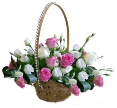 סלסלת ורדים לייה 200 שח
