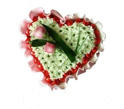 עוגת פרחים מרילין מתוקה 249 שח