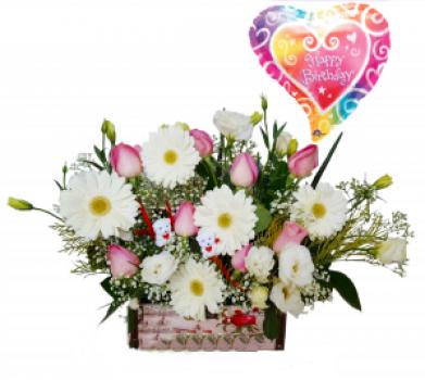 תיבת פרחים ניו יורק 250 שח